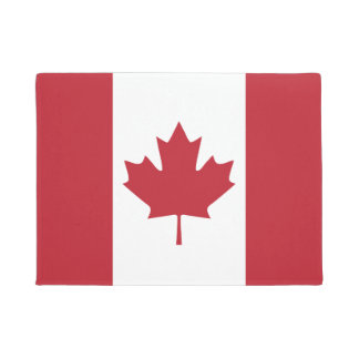 Canada Flag Door Mat