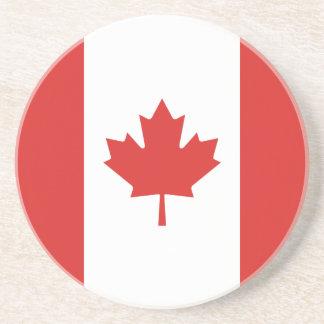 Canada Flag Drink Coaster