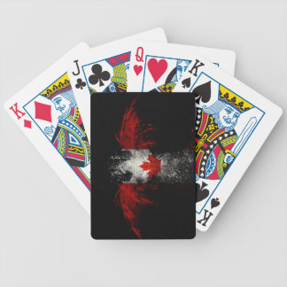 CANADA FLAG EAGLE BICYCLE PLAYING CARDS