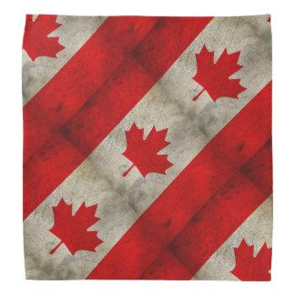 Canada Flag Grunge Bandana