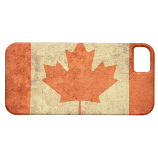 Canada Flag - Grunge iPhone 5 Covers