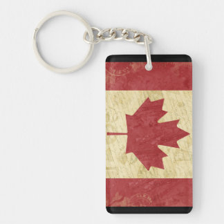 Canada Flag Key Chain Souvenir
