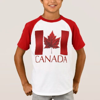 Canada Flag Kid's Shirt Canada Kid's Souvenir Tops