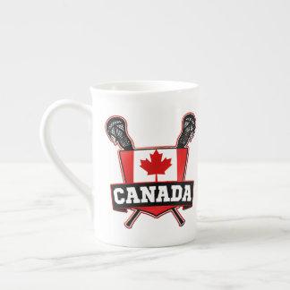 Canada Flag Lacrosse LAX Mug