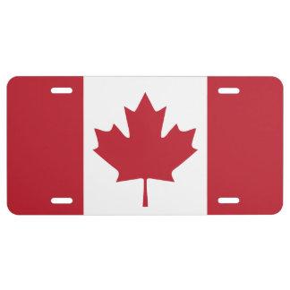 Canada Flag License Plate