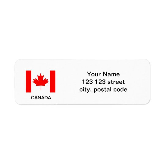 Canada flag,make your own flag labels