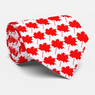 Canada 🇨🇦 Flag maple leaf Tie
