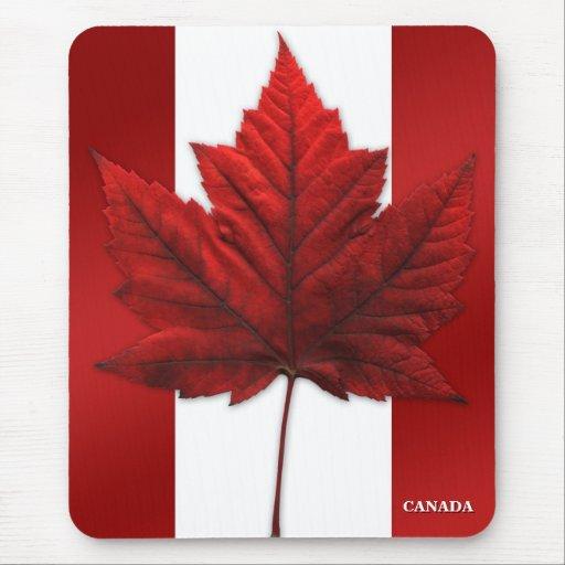 Canada Flag Mousepad Canada Maple Leaf Mousepad