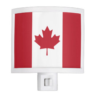 Canada Flag Night Light