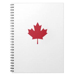 Canada Flag Notebook