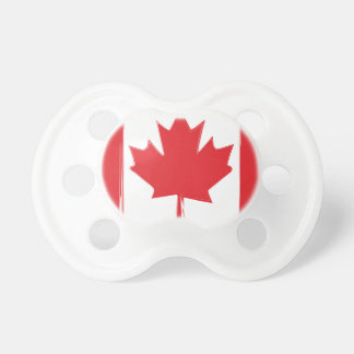 Canada flag pacifier