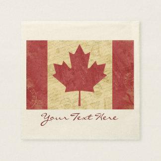 Canada Flag Party Napkins