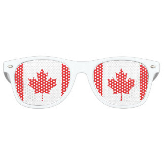 Canada Flag Party Shades