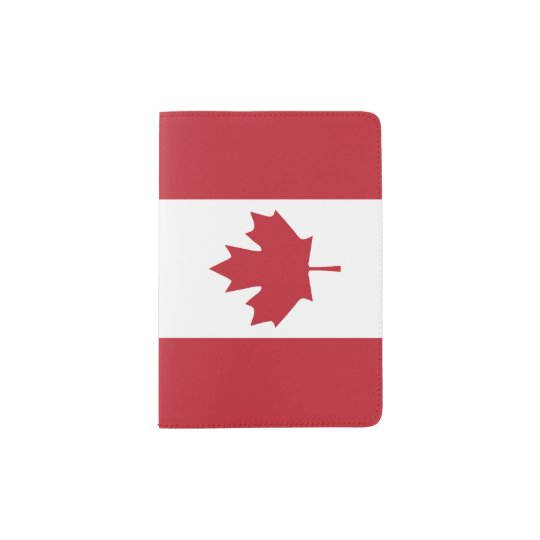 Canada Flag Passport Holder