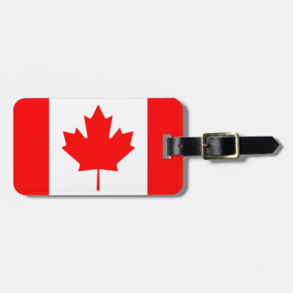Canada flag Personalized Travel tag, Luggage Tag
