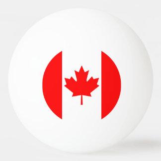 Canada Flag Ping Pong Ball