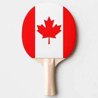 Canada Flag Ping Pong Paddle