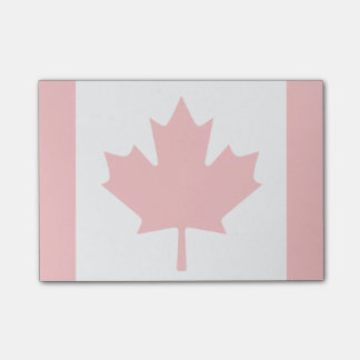 Canada Flag Post-It Notes