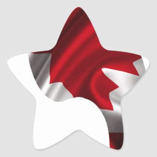 CANADA FLAG PRODUCTS STICKER
