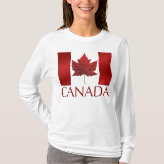 Canada Flag Shirts Women's Canada Souvenir Shirts