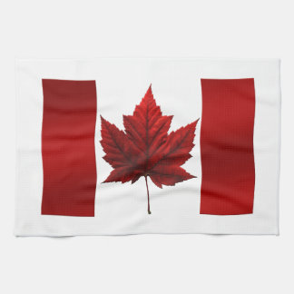 Canada Flag Souvenir Towel Canada Tea Towel Decor