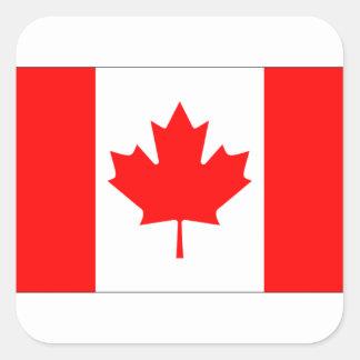 CANADA FLAG SQUARE STICKER