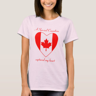 Canada Flag Sweetheart T-Shirt