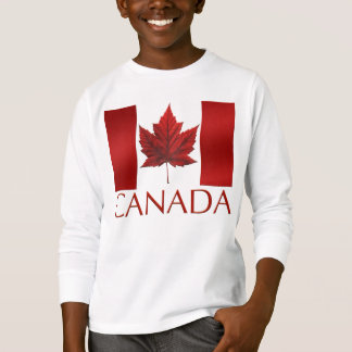 Canada Flag T-shirt Kid's Canada Souvenir Shirt