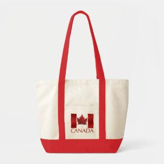 Canada Flag Tote Bag Environmental Canada Tote Bag
