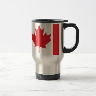 Canada flag travel mug
