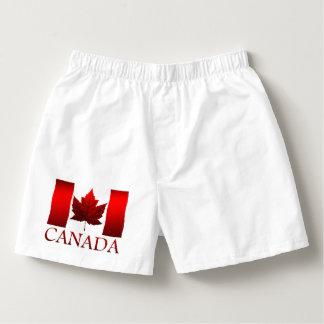 Canada Flag Underwear Men's Canada Boxer Shorts Boxers