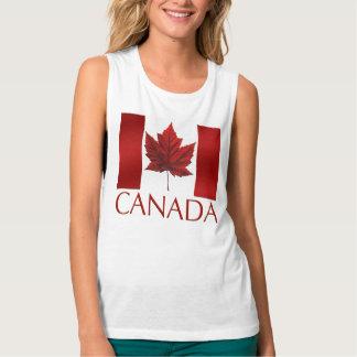 Canada Flag Women's Tank Top Canada Souvenir Tops
