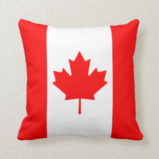 Canada Flag x Flag Pillow