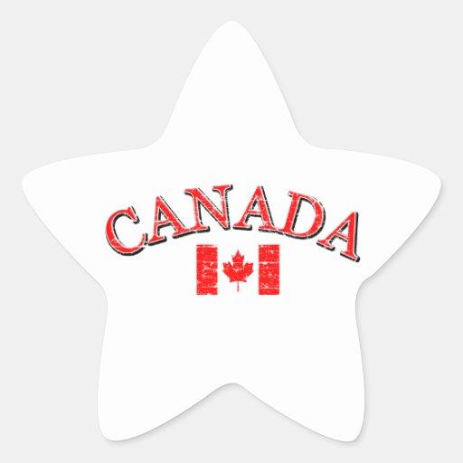 Canada football design sticker