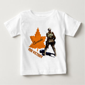Canada For Victory Baby T-Shirt