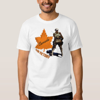 Canada For Victory T-shirts