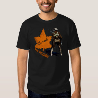 Canada For Victory Tee Shirt