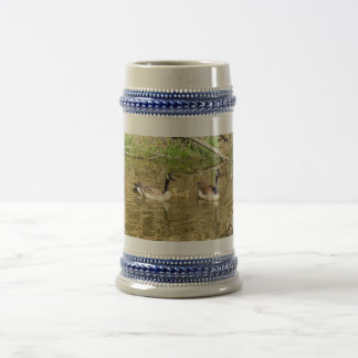 Canada Geese Family Beer Stein