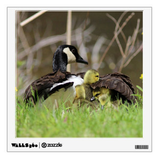Canada Geese Family Wall Sticker