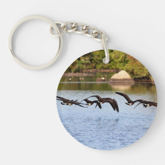 Canada Geese Keychain