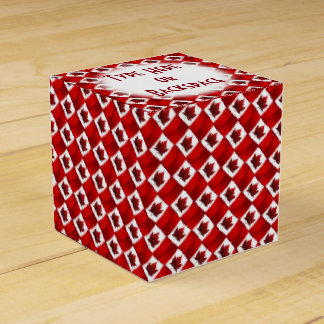 Canada Gift Box Personalize Canada Flag Gift Boxes Favor Box
