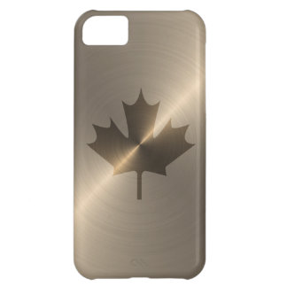 Canada Gold Maple Leaf iPhone 5C Cover