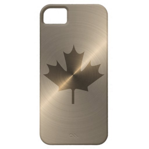 Canada Gold Maple Leaf iPhone 5 Cover