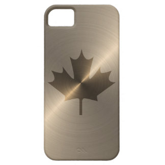 Canada Gold Maple Leaf iPhone 5 Cases