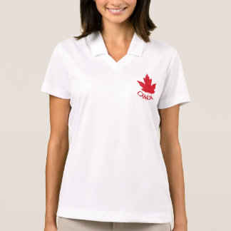 Canada Golf Shirt Women's Canada Polo Shirt