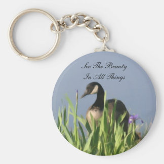 Canada Goose Beauty Inspirational Keychain