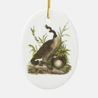 Canada Goose by Audubon Ceramic Ornament