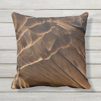 Canada Goose Feathers Outdoor Pillow