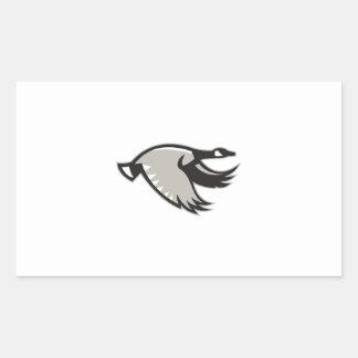 Canada Goose Flying Retro Sticker