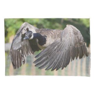 Canada Goose In Flight Pillowcase